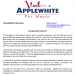 Post by Val Applewhite For Fayetteville Mayor.