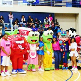 Fayetteville State 5th Annual Ball in Pink basketball
