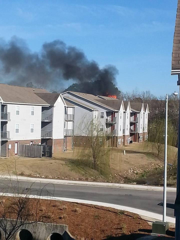 brookstone apartments on fire at fayetteville nc cliffdale rd faytoday