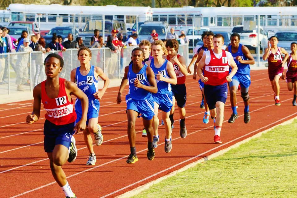 reid ross track meet event
