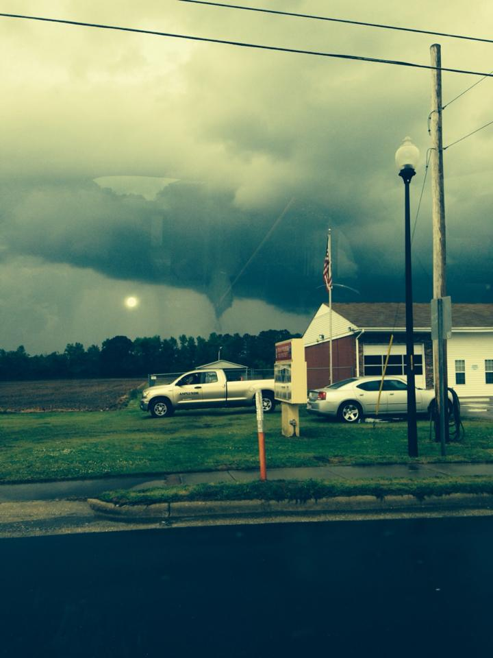 Tornado Clouds in Stedman NC Cumberland County