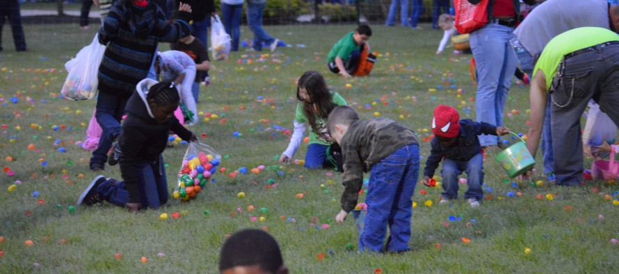 Easter Egg Hunts in Fayetteville, N.C. for 2013