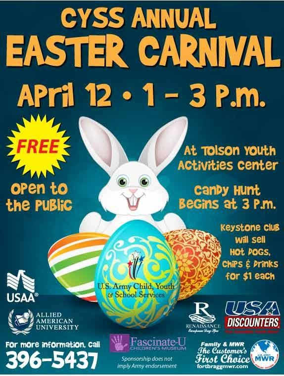 easter carnival cyss annual fort bragg nc