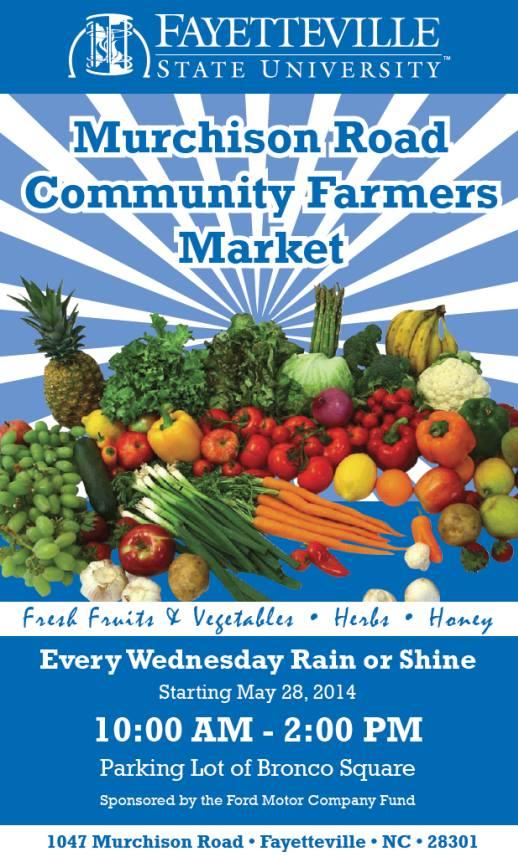 fayetteville nc farmers market on murchison rd