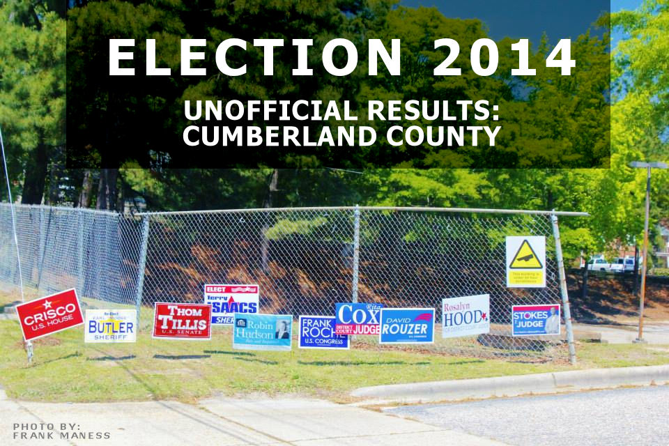 Election Results NC Primary 2014