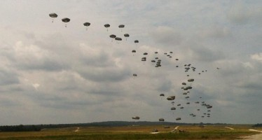 PHOTOS: Paratroopers commemorate the 70th Anniversary of D-Day at Normandy Drop Zone