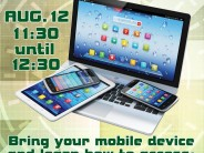 Fort Bragg Throckmorton Library hosts Tech Tuesday August 12, 2014