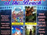 2014 Free Summer Movie Nights at Smith Lake