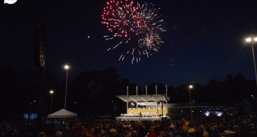 PHOTOS:  Fireworks Display and Concert by NC Symphony on July 1, 2014