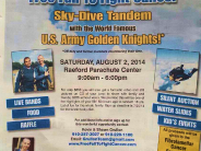 Sky Dive with the Golden Knights at the 3rd Annual Free Fall to Fight Cancer Event