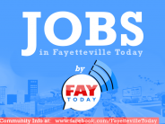 Fayetteville NC Job Opportunities for July 21-25, 2014