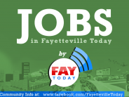 Weekly Jobs Listing in Fayetteville NC |  Week of July 28-Aug 1, 2014