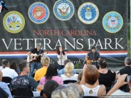 PHOTOS:  Local 9/11 First Responders Salute at NC Veterans Park