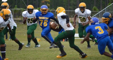 PHOTOS: Pine Forest Middle Football Team Defeats Spring Lake Middle, 6-0