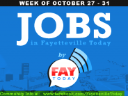 Jobs Near Fayetteville, NC |  Week of Oct. 27-31, 2014
