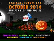 List of 2014 Halloween Events for Kids and Adults Near Fayetteville, NC