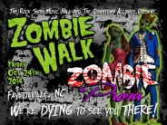 2014 Zombie Walk Kicks Off October's 4th Friday in Fayetteville, NC