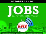 JOB OPENINGS near Fayetteville NC October 20-24th 2014