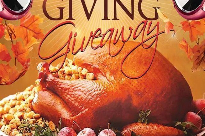 300 Thanksgiving Turkey Giveaway by Banging Systems