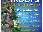 """Trees for Troops"" Program is Dec 5th at Smith Lake"