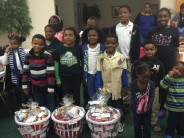 Kids of Fayetteville Jack and Jill, Inc. Create Thankgiving Meals to Local Families