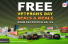 Veterans Day Deals in 2014 Near Fayetteville, NC