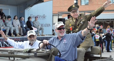 PHOTOS:  2014 Veterans Day Parade in Fayetteville, NC