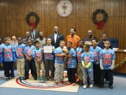 Spring Lake Oilers Win 10U NC Turkey Bowl, Gets Recognition at Town Hall Meeting