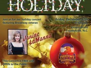 Army Ground Forced Band Performs Holiday Concert Dec 12th at the Crown