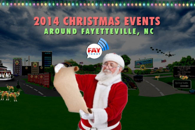 2014 Christmas Events Near Fayetteville, NC
