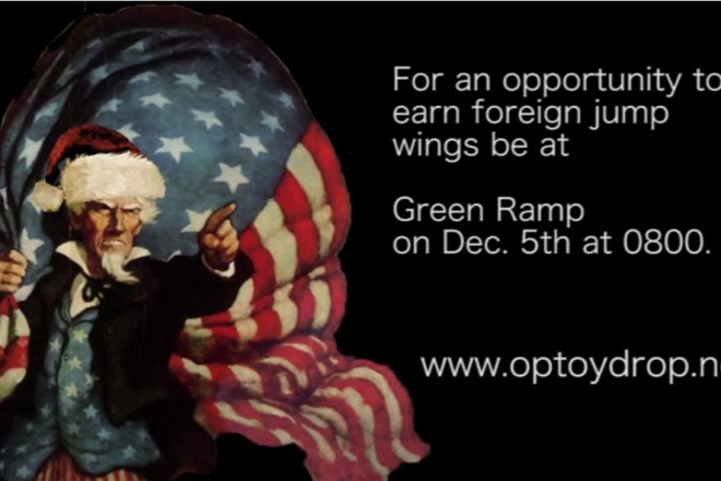 2014 Operation Toy Drop at Fort Bragg, NC
