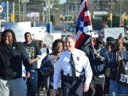 Fayetteville NC Unity March Held Peacefully, Escorted by Chief Medlock