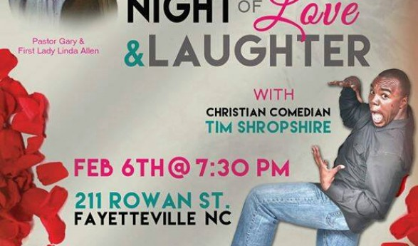 A Night of Love & Laughter Comedy Show on Feb 6th 2015