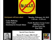 Anti-Bullying For Special Need Childrem Forum at Pope Field