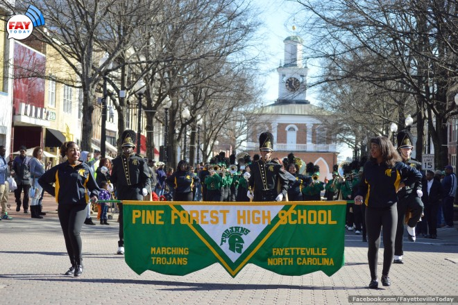 PHOTOS:  2015 MLK Parade in Downtown Fayetteville NC