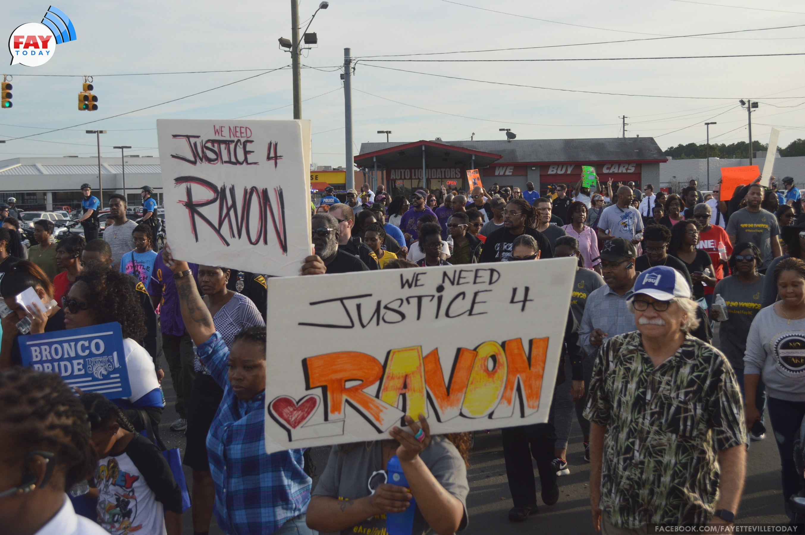 PHOTOS: 2015 Unity March in Fayetteville, NC – FayToday