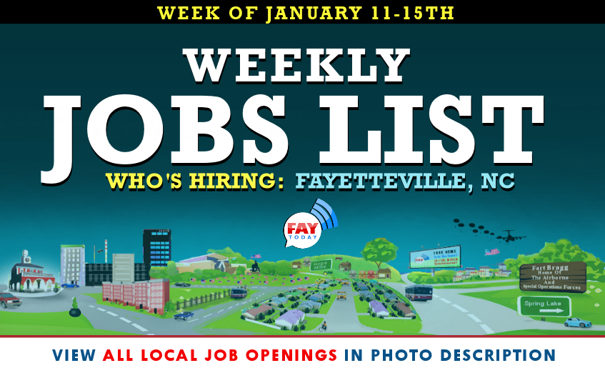 Part Time jobs available in Fayetteville, NC. See salaries, compare reviews, easily apply, and get hired. New Part Time careers in Fayetteville, NC are added daily on russia-youtube.tk The low-stress way to find your next Part Time job opportunity is on Simply Hired. There are over Part Time careers in Fayetteville, NC waiting for you to apply!