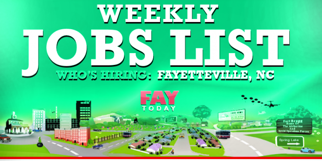 Some of the other top employers for Fayetteville jobs include Fayetteville Technical Community College, Fort Bragg and Cumberland County Schools. The headquarters for the school district is located here, so there are opportunities for Fayetteville jobs for administrators and .
