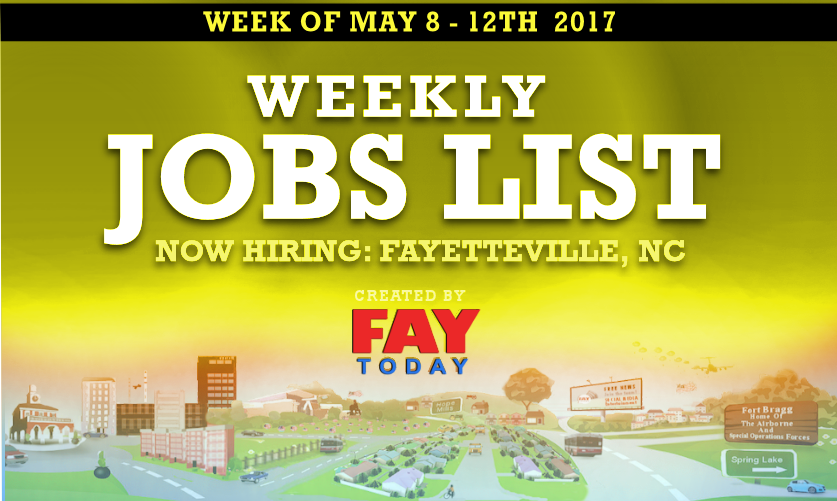 jobs available in Fayetteville, NC. See salaries, compare reviews, easily apply, and get hired. New careers in Fayetteville, NC are added daily on nakedprogrammzce.cf The low-stress way to find your next job opportunity is on Simply Hired. There are over careers in Fayetteville, NC waiting for you to .