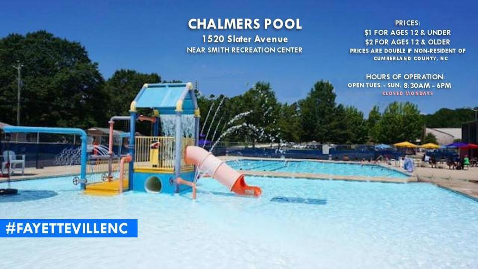 List of public pools and swimming spots near fayetteville nc for 2017 faytoday for Public swimming pools around me